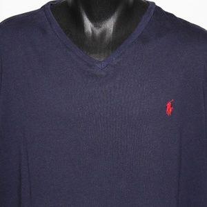 Ralph Lauren Polo Short Sleeve 100% Cotton V-Neck